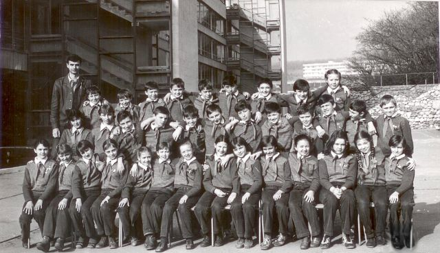 Дмитрий Батогов: пятый слева в верхнем ряду