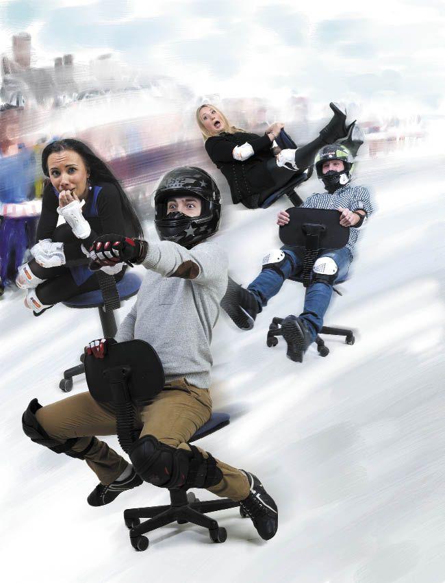 Илья Редькин, Олег Зыкин, Наталья Зобнина, Ирина Марьина — команда «СПК-NEON»