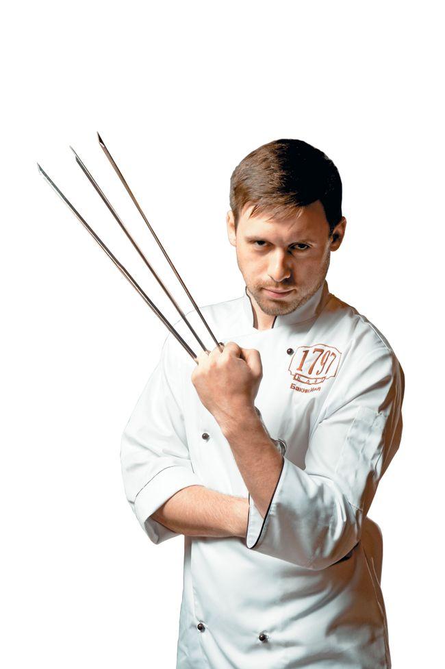 Илья Бакин, шеф-повар кафе «1797»
